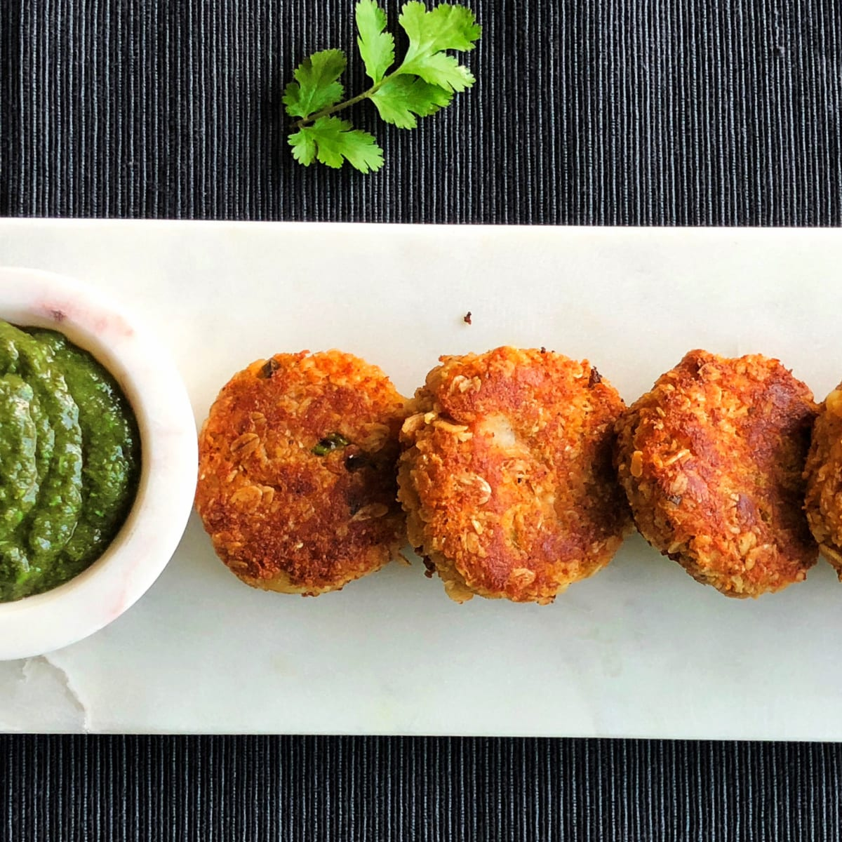 Oats and Paneer Tikki/Cutlet