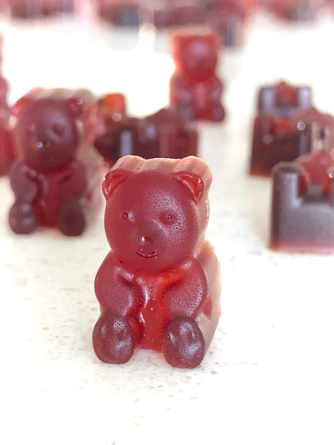 Homemade Sugar Free Gummy Bear