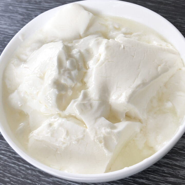 How to make thick yogurt (curd or dahi) at home
