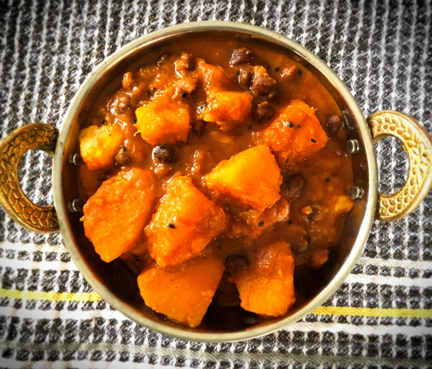 Bengali Pumpkin Curry