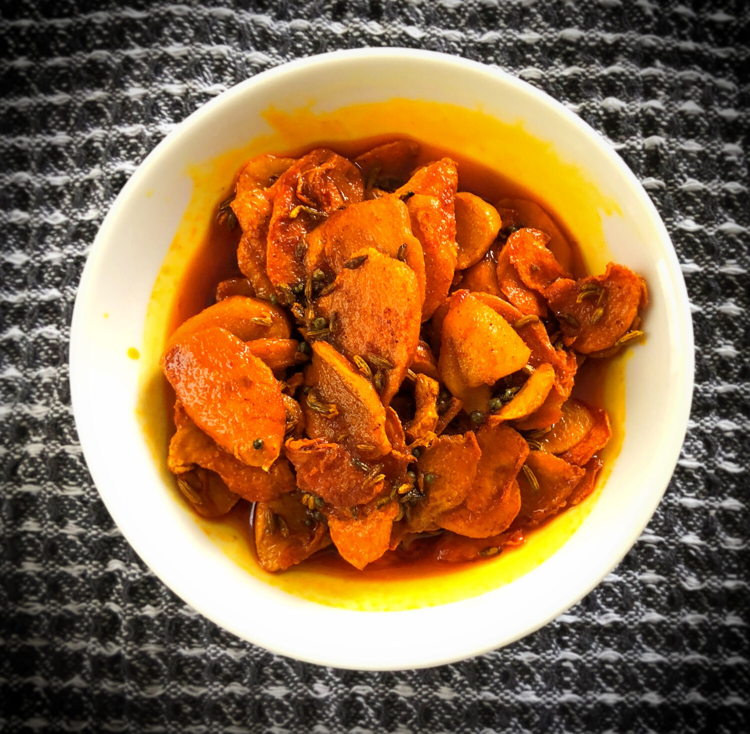 Raw Turmeric Pickle