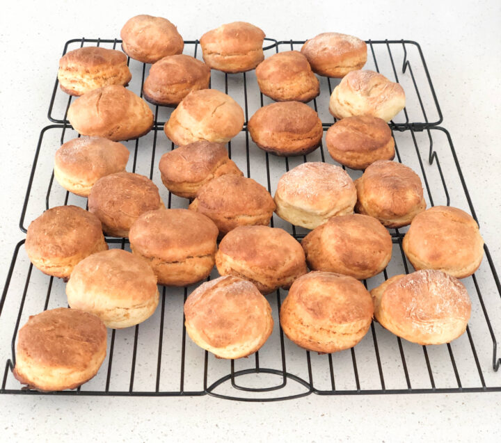 Sourdough Flaky Biscuits
