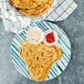 Sourdough Methi Paratha