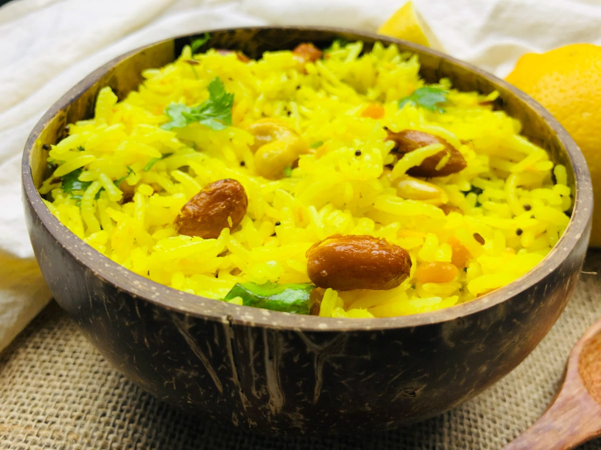 Lemon Rice / Chitranna