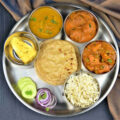 Vegetarian Punjabi Thali Ideas